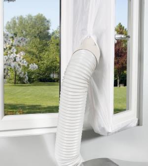 Evitare di bucare la finestra con il telo sigillante di comfee il condizionatore - Guarnizione finestra per condizionatore portatile ...