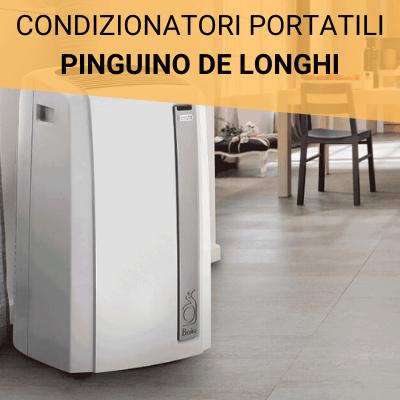 condizionatori portatili pinguino de longhi